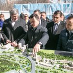 А.Ю. Воробьёв дал старт строительству развязки на пересечении Ильинского и Волоколамского шоссе.
