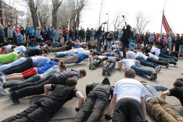 Акция Рекорд победы в Павшинской пойме