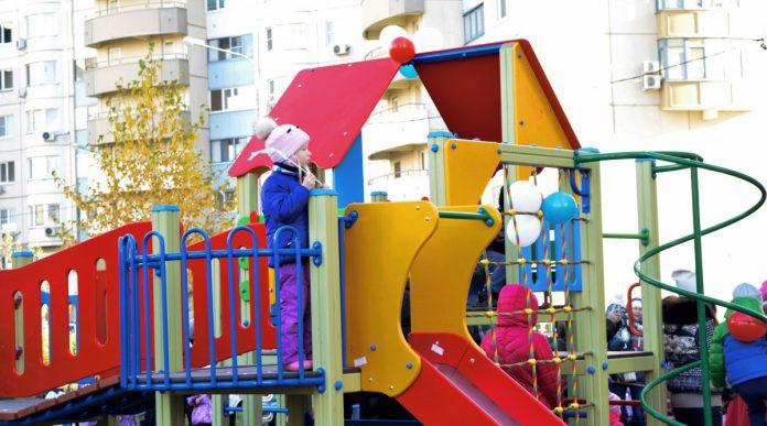 Инвентаризация детских и спортивных площадок в Павшинской пойме