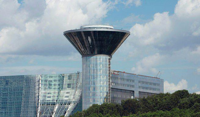 ТПУ с бизнес центром построят возле здания правительства Подмосковья.