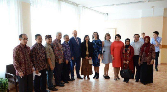 Индонезия Павшинская пойма сотрудничество школ продолжается