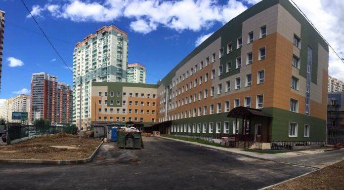 Поликлиника в микрорайоне Павшинская пойма почти готова к сдаче в эксплуатацию