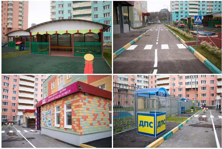 В Павшинской пойме открывался новый детский сад