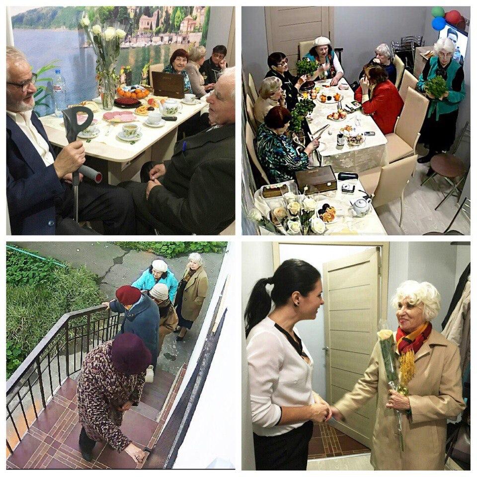 Международный день пожилых людей прошел в Павшинской пойме