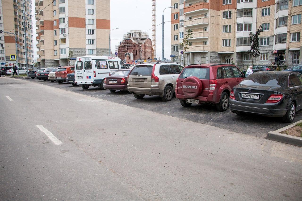 В Павшинской пойме парковаться становится удобнее