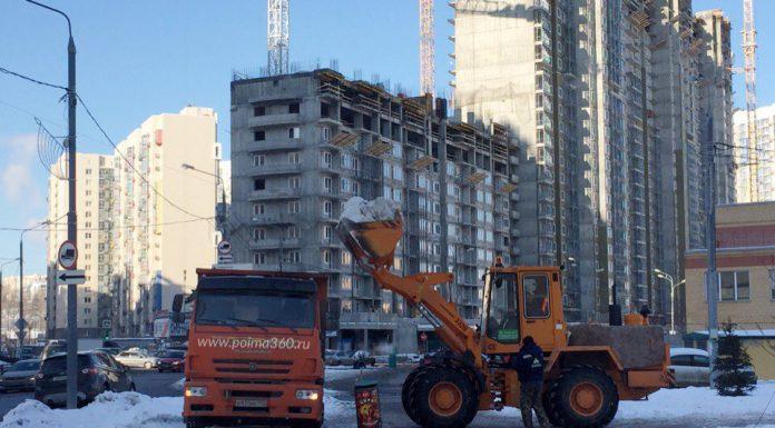 Инспекторы Госадмтехнадзора выявили множество нарушений в зимней уборке Павшинской поймы