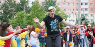 Детский муниципальный лагерь в Павшинской пойме начал свою работу.