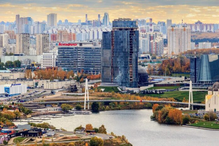 Строительство бизнес‑центра «Два капитана» в Красногорске завершат в 2018 году