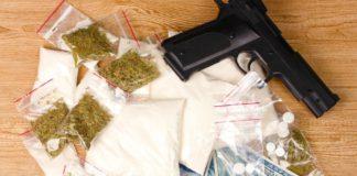 В Павшинской пойме задержан подозреваемый в незаконном хранении кокаина и марихуаны