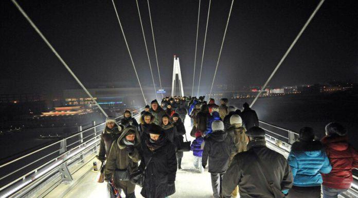 Воробьев поручил решить проблему с обслуживанием моста в Павшинской пойме