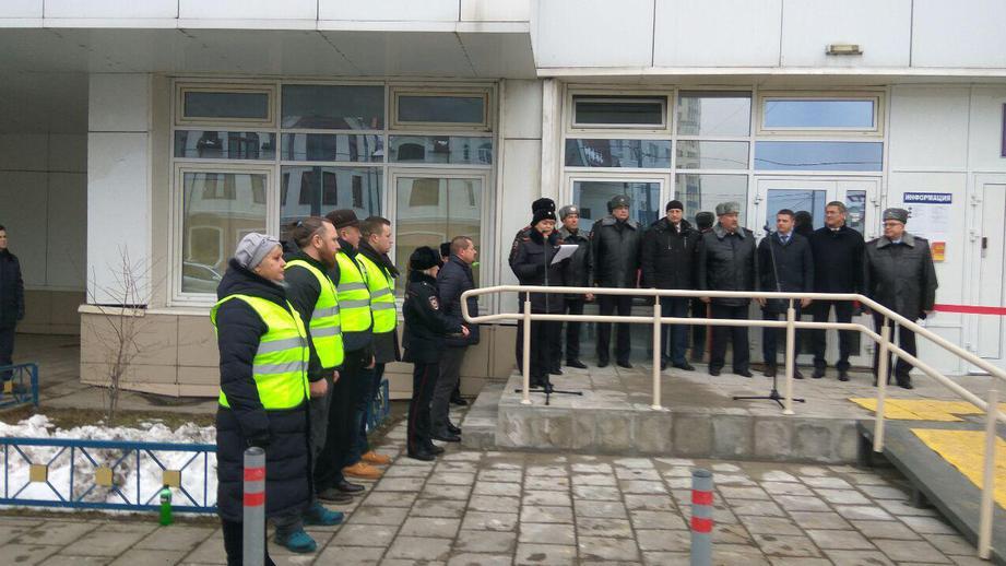 Новый участковый пункт полиции открыли в Павшинской пойме