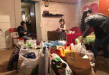 Жители Павшинской поймы спасли семью из Тульской области от голода