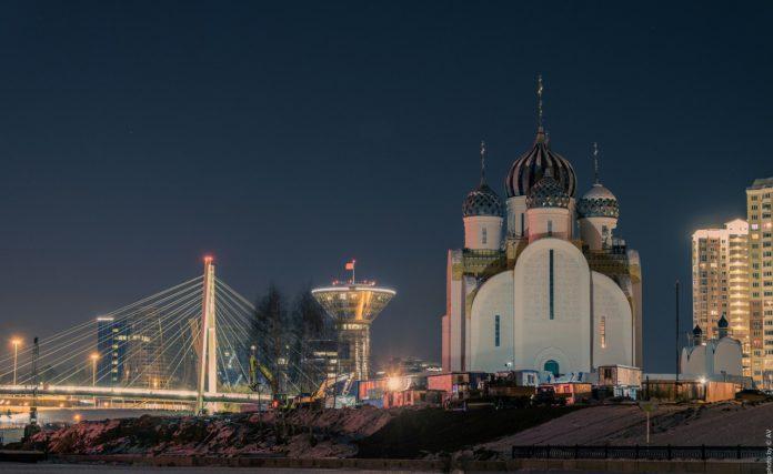Храм в Павшинской пойме откроют в 2018 году.