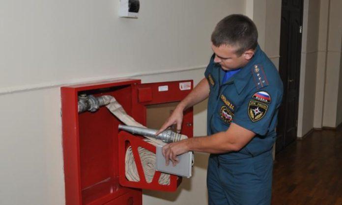 Противопожарная проверка прошла в одном из домов Павшинской поймы