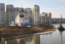 План благоустройства набережной в Павшинской пойме 2018