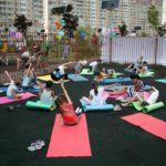 В Павшинской пойме отметили Международный день йоги