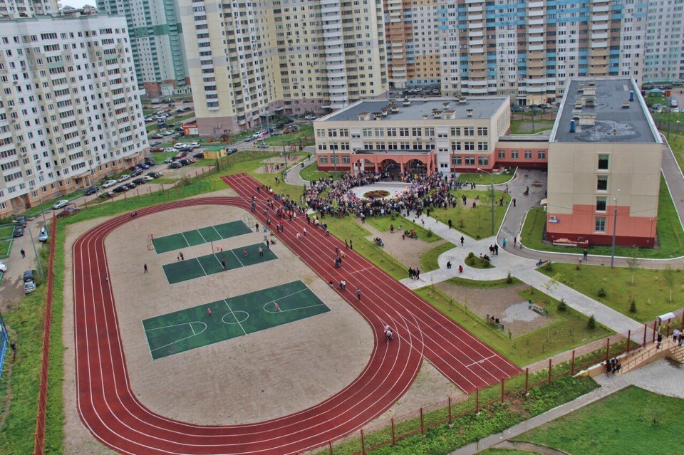 Школьные спортивные площадки Павшинской поймы будут открыты для посещения