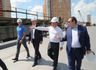 Развязку на пересечении Волоколамского и Ильинского шоссе в Красногорске полностью запустят к середине 2019 года