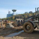 Началось строительство спортивного кластера в Павшинской пойме