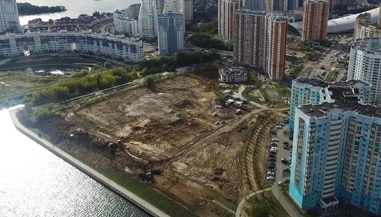 Спортивные площадки и зону отдыха оборудуют на месте свалки в Павшинской пойме
