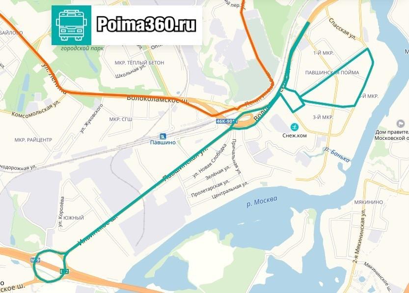 Голосование за новый маршрут в Павшинской пойме стартовало на «Доброделе»