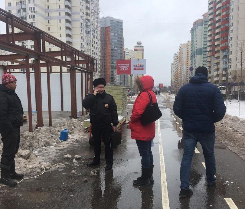 Застройщика из Павшинской поймы оштрафовали за незаконное строительство