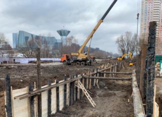 Реконструкцию коллектора в Павшинской пойме планируют завершить раньше намеченного срока