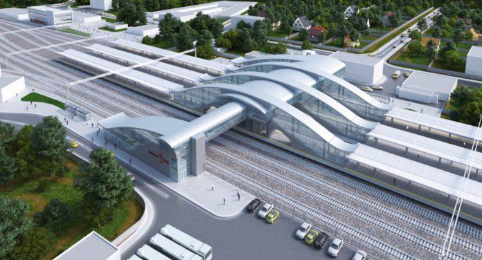 Работы по строительству пяти станций начались на маршруте МЦД-2 «Нахабино - Подольск»