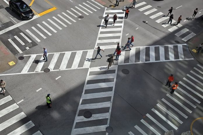 Диагональные пешеходные переходы обустроят в Павшинской пойме